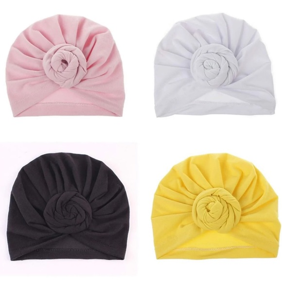 Other - 🎀 Turban Knotted Hat Set New🎀
